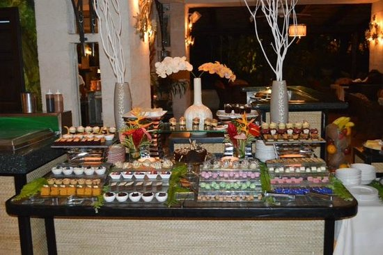 Coral Reef Club: Monday night's famous Bajan Buffet dessert selection! Delicious!