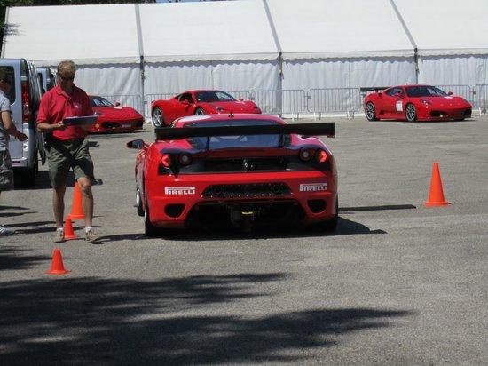 Circuit du Laquais : Ferrari F430 Challenge