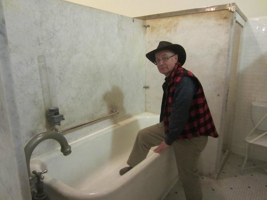 Fordyce Bathhouse (Vistor Center): Bathtub