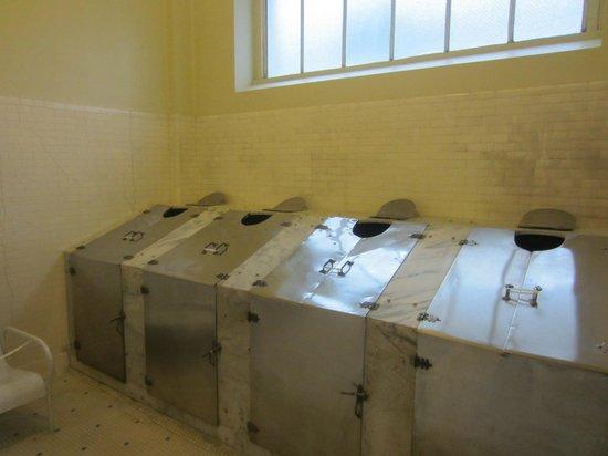 Fordyce Bathhouse (Vistor Center): Steam cabinets