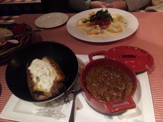Frans & Cherie Bistro: Los platos
