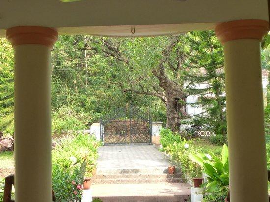 Divar Island Guest House Retreat: Einfahrt