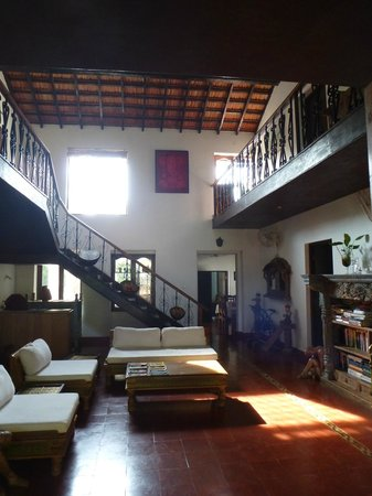 Divar Island Guest House Retreat: Patio