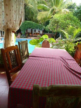 Divar Island Guest House Retreat: Restaurant