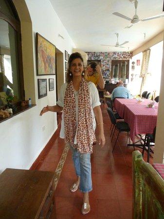 Divar Island Guest House Retreat: Die Gastgeberin