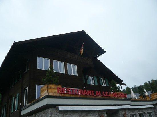 Lake of Staz (Lej da Staz) : Restaurant Lej da Staz