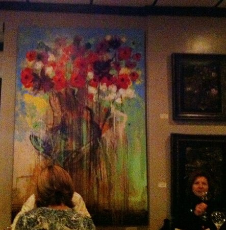 The Nomad Cafe: painting from unknown Dutchman covered the walls