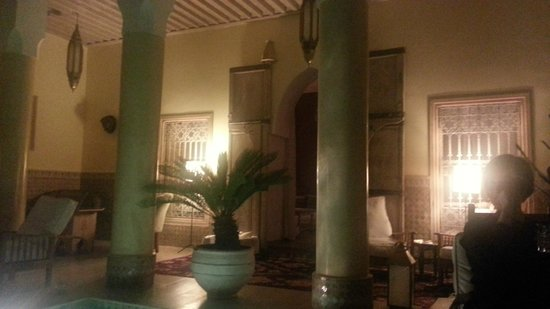 Riad Azoulay: hall di ingresso