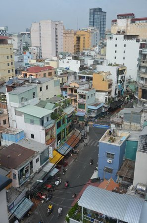 Duc Vuong Hotel : View from Rooftop