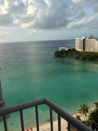 The Westin Resort Guam : 海はとてもきれいでした