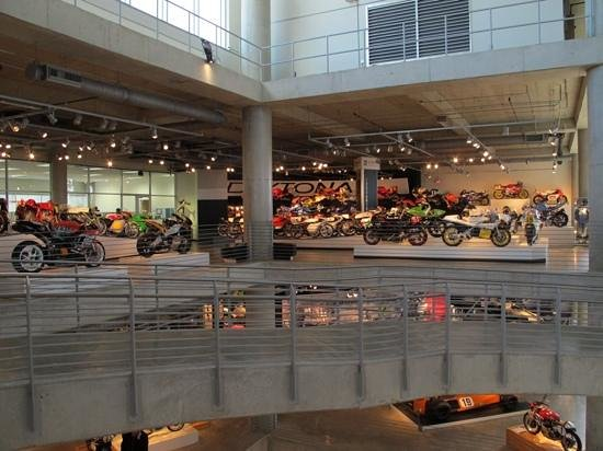 Barber Vintage Motorsports Museum : Bike after bike...