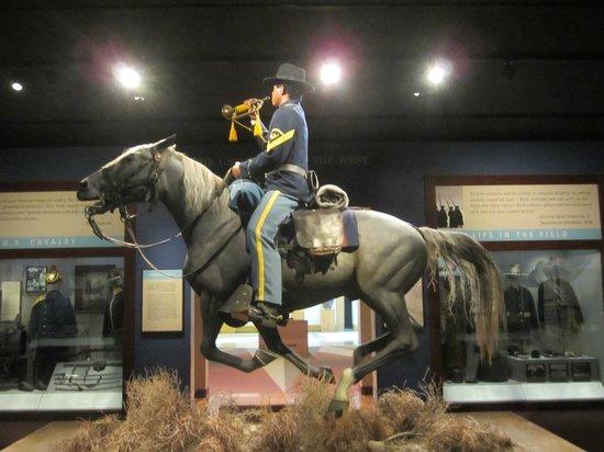 National Cowboy & Western Heritage Museum : Calvary exhibit