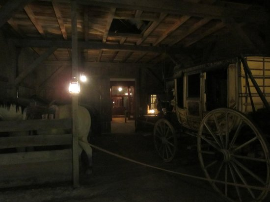 National Cowboy & Western Heritage Museum : Livery stable