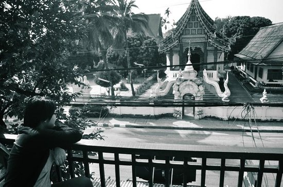 Pat's Klangviang: View from balcony