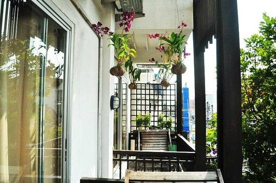 Pat's Klangviang: balcony