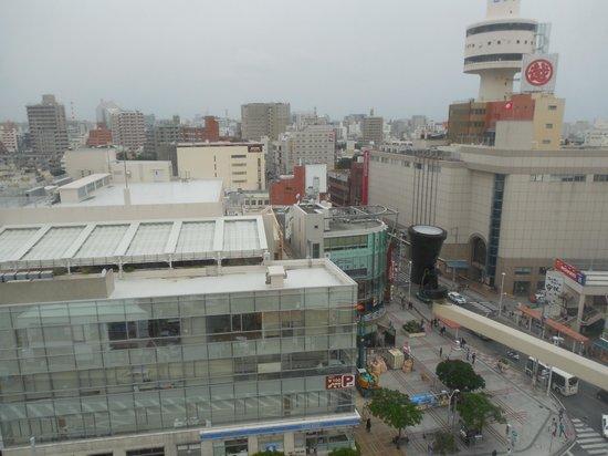 Hotel Palm Royal Naha Kokusai Street: 客室からの眺め
