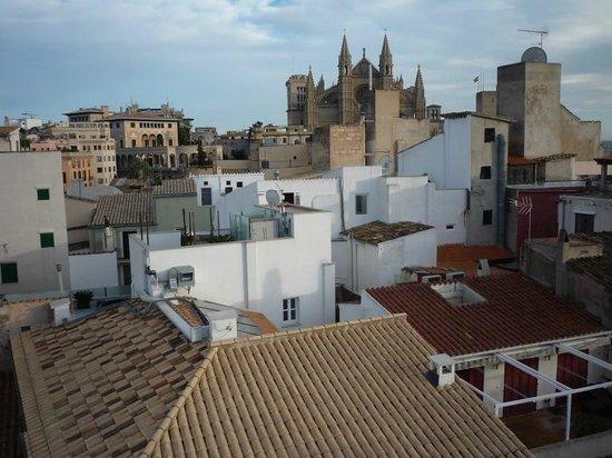 Puro Hotel: Blick von der Dachterrasse (Januar 2014)