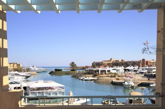 The Captain's Inn : Marina View von der Terrasse im 1.OG