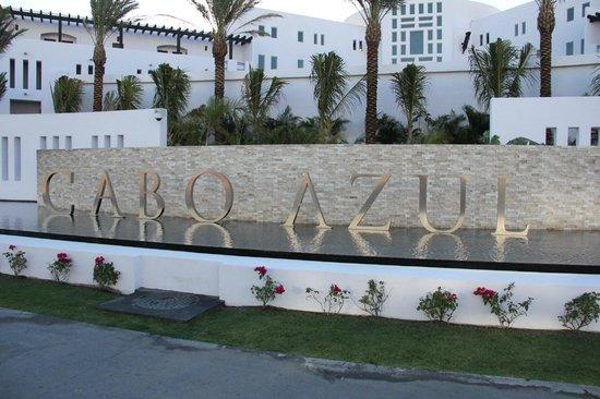 Cabo Azul Resort: Cabo Azul Sign
