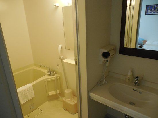 Hotel Palm Royal Naha Kokusai Street: バスルーム