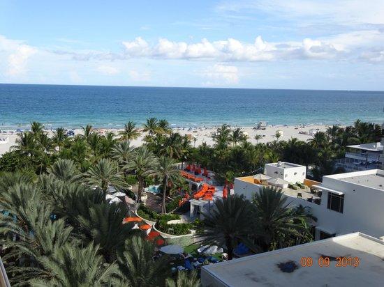 Loews Miami Beach Hotel: Vista desde el balcón de la habitación