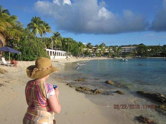 Secret Harbour Beach Resort: on the beach