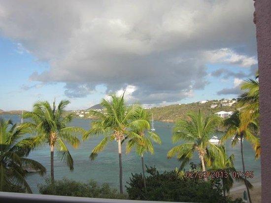Secret Harbour Beach Resort: view from room