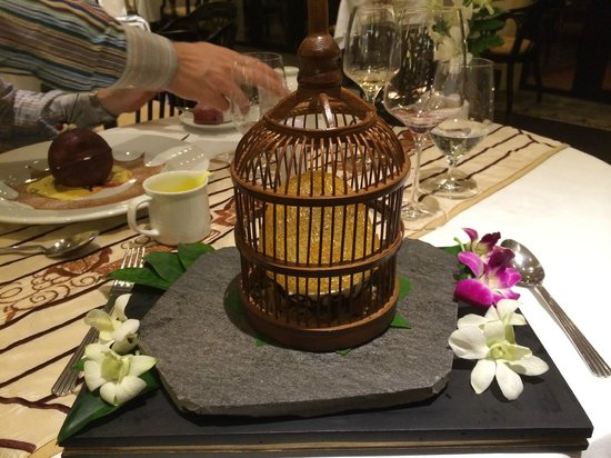 La Residence Hue Hotel & Spa: Bird's nest - presentation