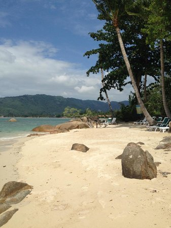 Lamai Bay View Resort : Plage