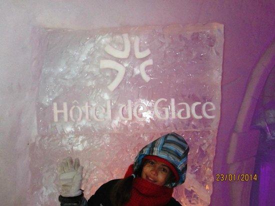 Hôtel de Glace : Bienvenue