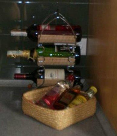 Babka Tower Suites: Minibar at the apartment.