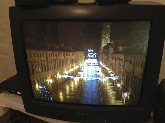 Placa (Stradun): The Stradun 24 hrs on TV