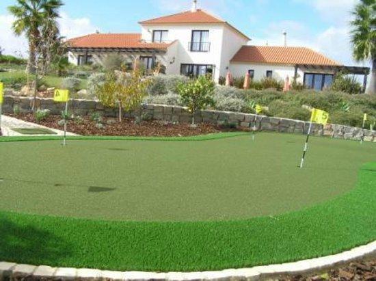 Bed & Breakfast Villa Laguna : Practice green