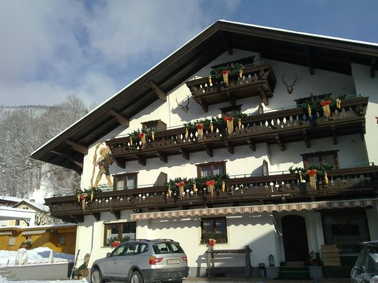 Pension Alpenrose: вид отеля