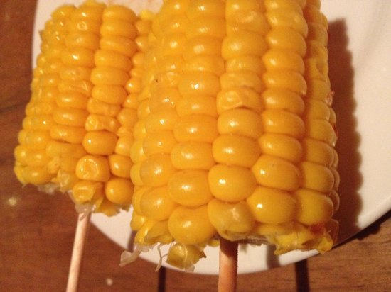 Tony Roma's: It's a must to Savour TR corns, they were sweet & juicy.