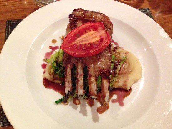 Heacham Manor Hotel: Rack of lamb highly recommended !