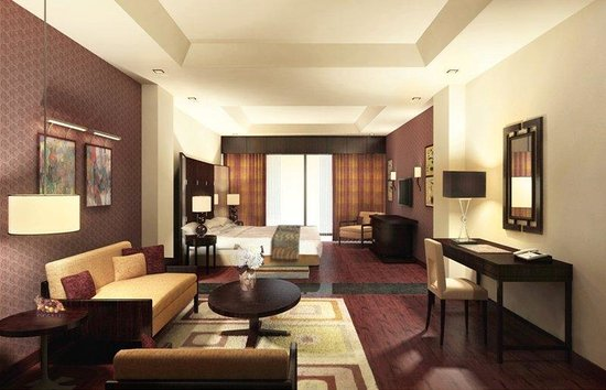 Crowne Plaza Al Khobar: King Bed Guest Room