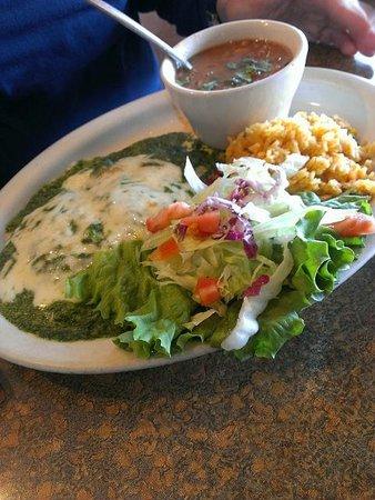 Salsa's: Spinach Enchiladas