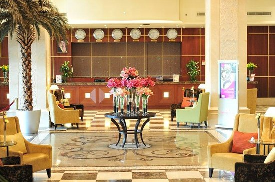 Crowne Plaza Al Khobar: Hotel Lobby