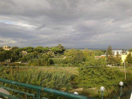 Domus Caesari: panorama