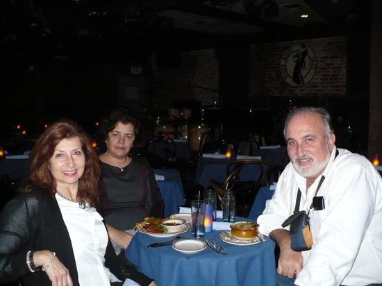 Blues Alley : Dinner, before Jazz ...