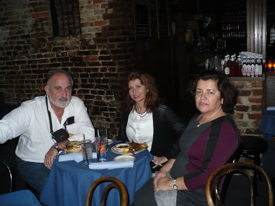 Blues Alley : Still dinner before Jazz !