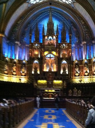 InterContinental Montreal : Notre-Dame Basilica of Montréal-a short walk away