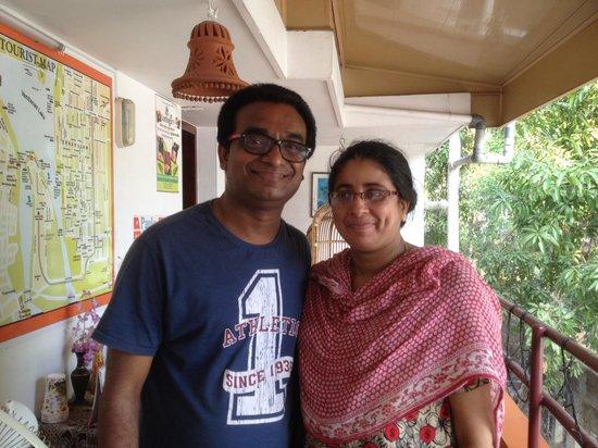 Sajhome: Saj & his lovely wife!
