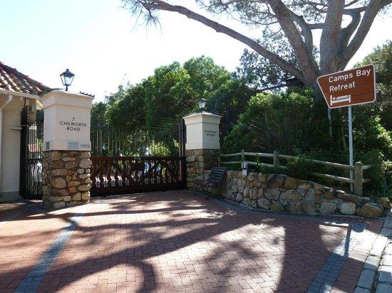 Camps Bay Retreat : Hotel entrance