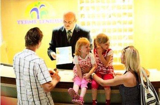 Hotel Lipa : Reception