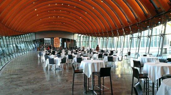 Crystal Bridges Museum of American Art: Dining Area