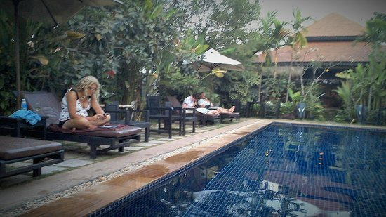The Moon Boutique Hotel: chilling