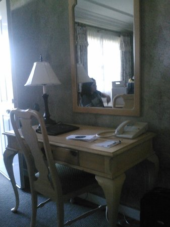 Sea Otter Inn: Working desk
