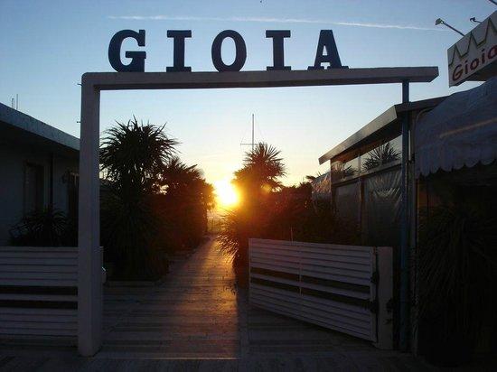 Bagno Gioia: sunset